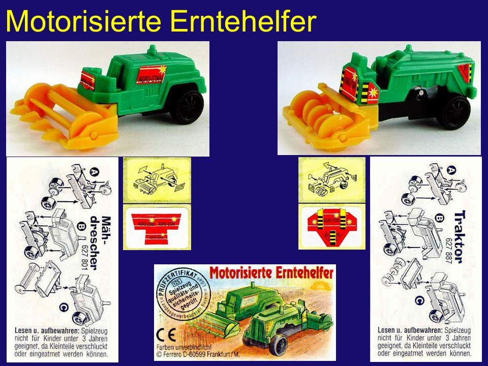 Motorisierte Erntehelfer
