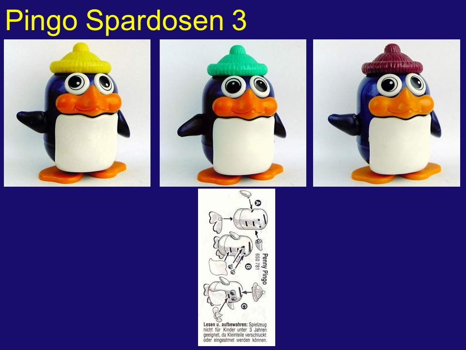 Pingo Spardosen 3