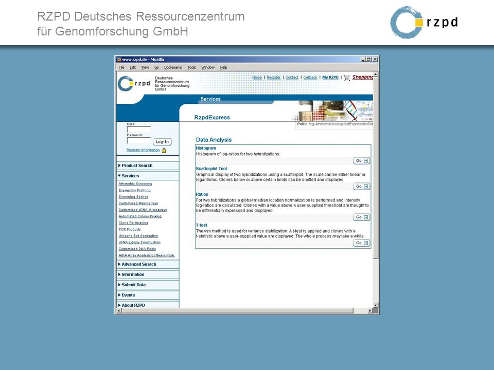 RZPD Deutsches Ressourcenzentrum für Genomforschung GmbH