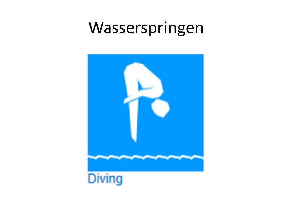 Wasserspringen