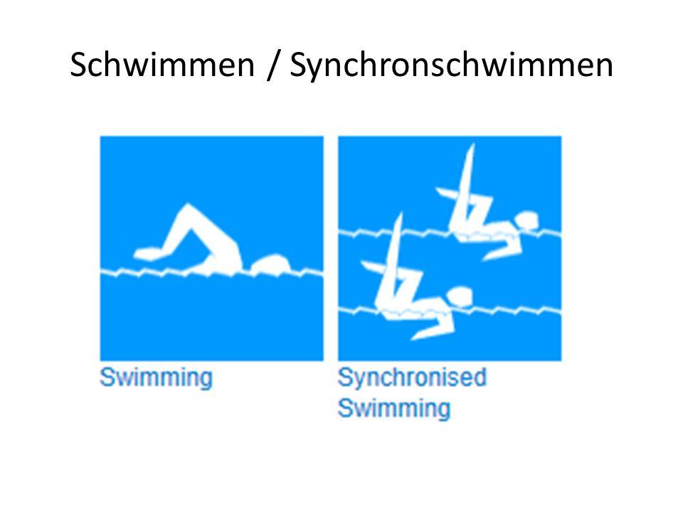 Schwimmen / Synchronschwimmen