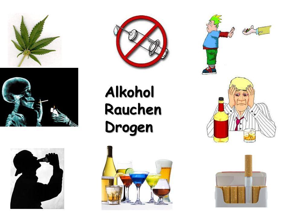 AlkoholRauchenDrogen