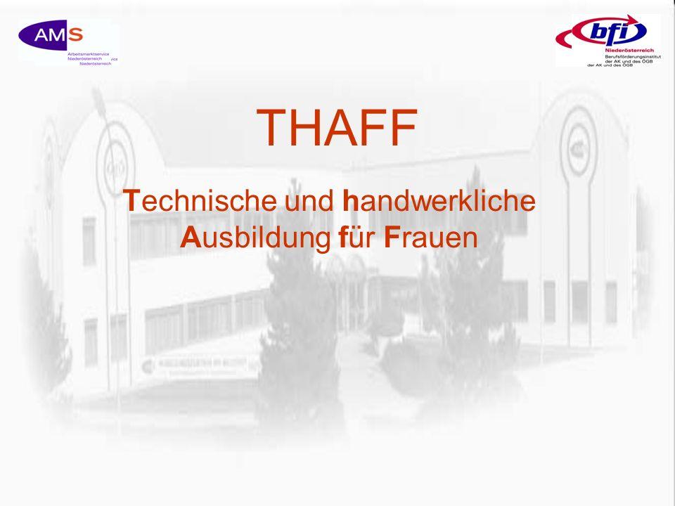 THAFF Technische und handwerkliche Ausbildung für Frauen