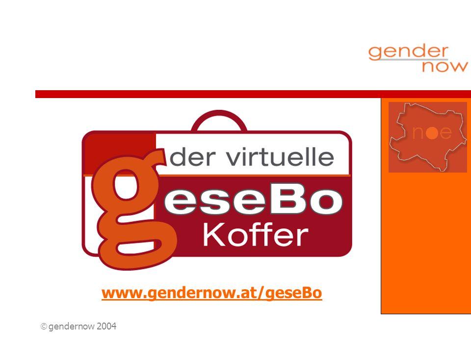 gendernow 2004 www.gendernow.at/geseBo