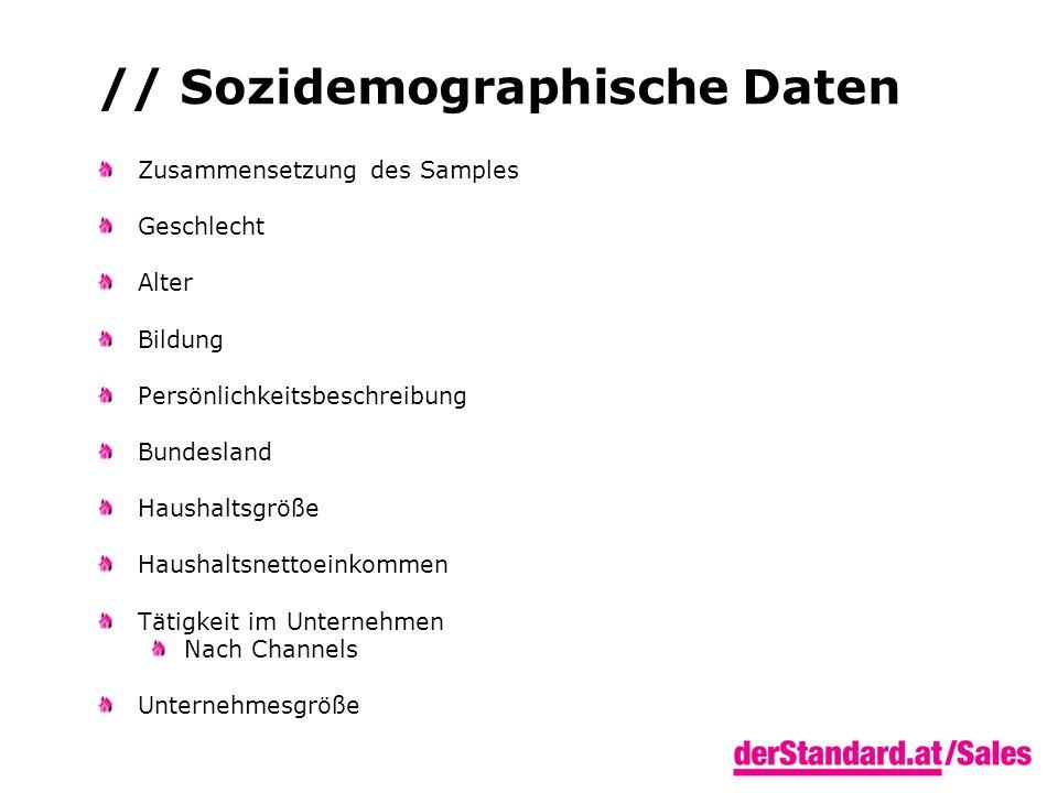 // Sozidemographische Daten Zusammensetzung des Samples Geschlecht Alter Bildung Persönlichkeitsbeschreibung Bundesland Haushaltsgröße Haushaltsnettoe