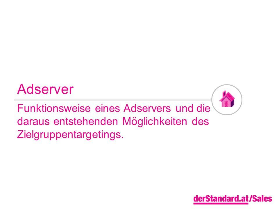 Adserver Funktionsweise eines Adservers und die daraus entstehenden Möglichkeiten des Zielgruppentargetings.