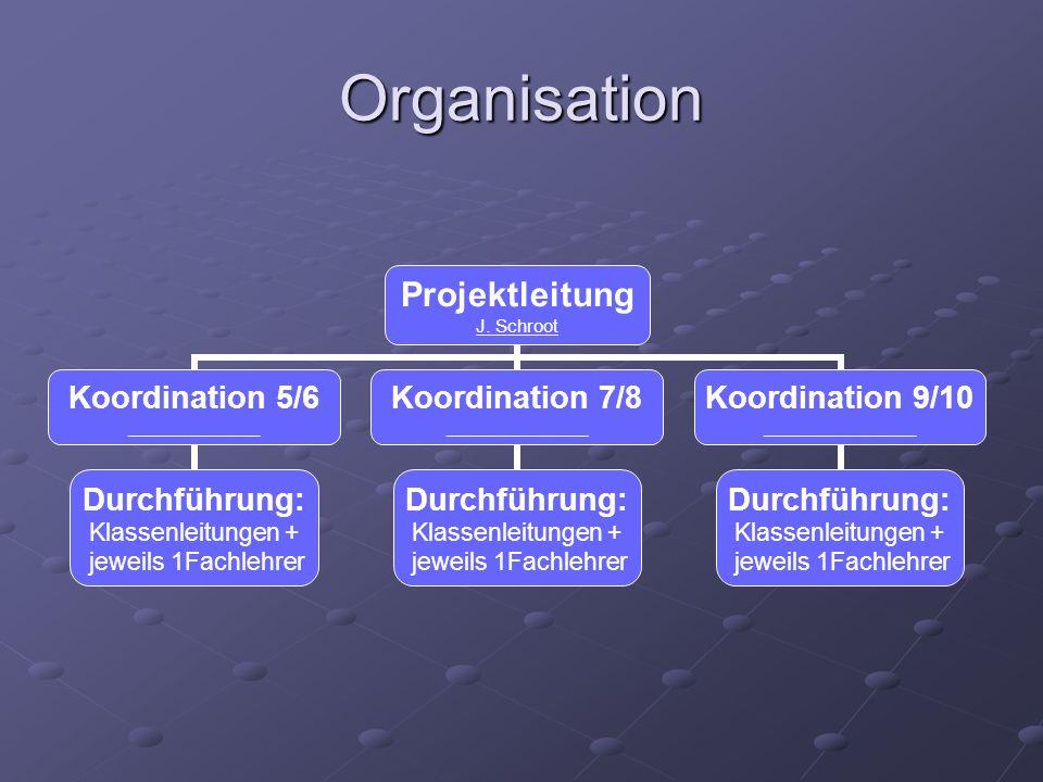 Organisation Projektleitung J.