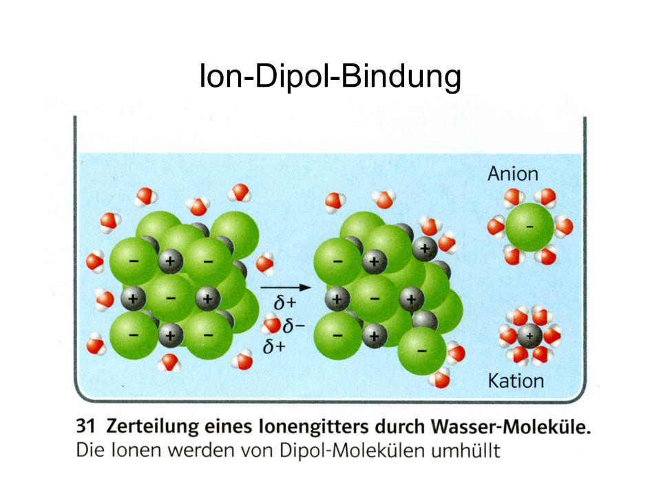 Ion-Dipol-Bindung