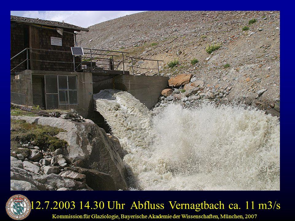 Kommission für Glaziologie, Bayerische Akademie der Wissenschaften, München, 2007 Aus: Hydrologischer Atlas der Schweiz, 2001