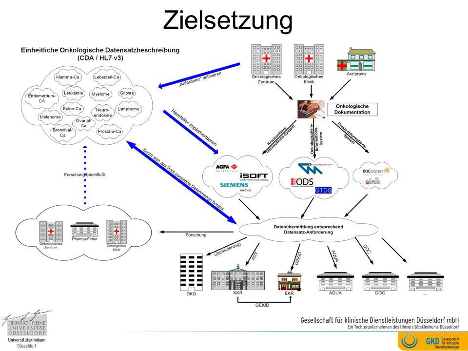 Heutige Akteure der DKG-Initiative Alcedis GmbH