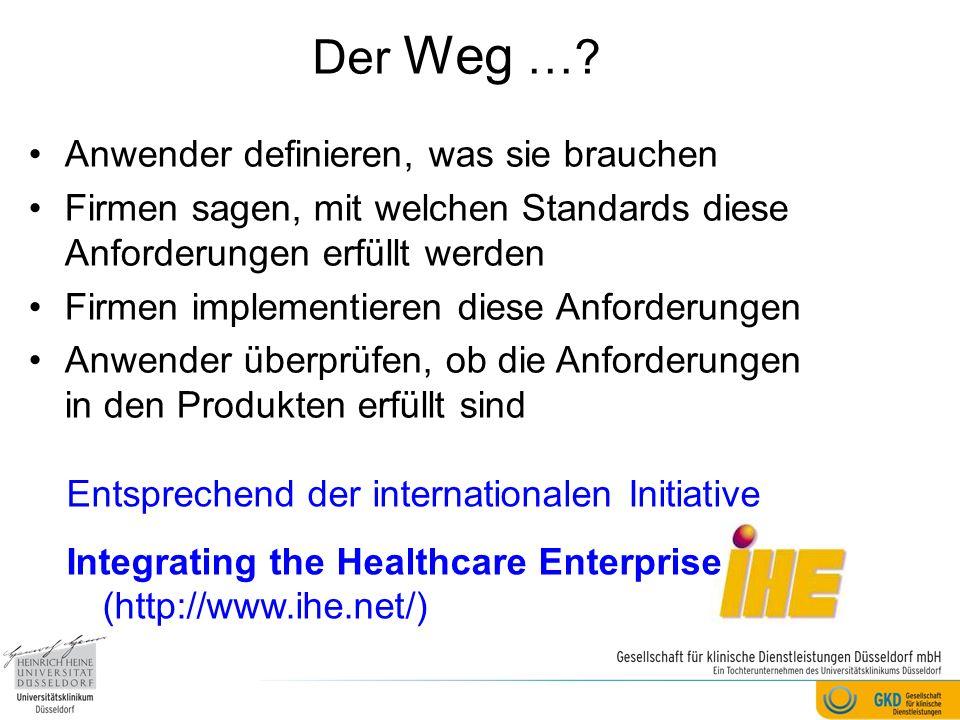 Danksagung Herr Altmann (GTDS) Herr Becker (Epidemiologisches Krebsregister Baden-Württemberg, DKFZ) Herr Bruns (DKG) Herr Burkhardt (Hamburger Krebsregister) Herr Eggers (NoemaLife) Herr Ermel (Saatmann) Frau Esther (ixmid) Frau Fontein (Megapharm) Herr Fries (DOC) Frau Jagota (ADT) Herr Jansen (DokuData) Herr Ketterer (IT-Choice) Herr Lang (Alcedis) Herr Leifeld (Siemens) Herr Miczek (Safe4Net) Herr Neumann (ID Berlin) Herr Oemig (Agfa HealthCare) Herr Rittmeier (AQUA) Herr Schmitz (AGFA) Herr Thiele (Zytoservice) Den Mitgliedern unserer Arbeitsgruppe: