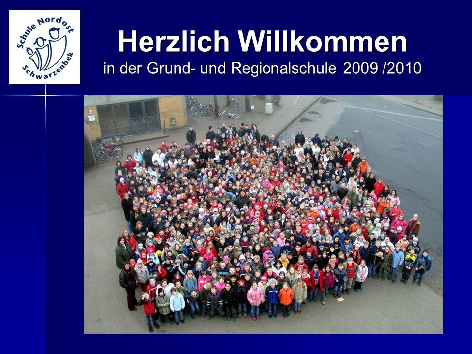 Herzlich Willkommen in der Grund- und Regionalschule 2009 /2010