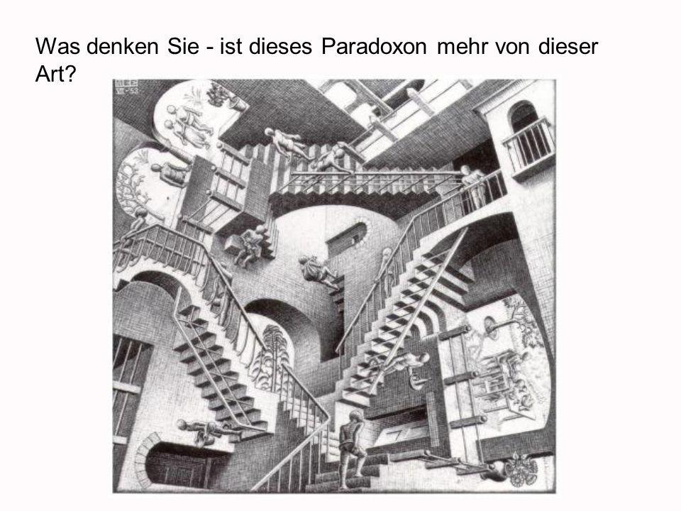 http://www.businesspundit.com/50226711/relativity.jpg Was denken Sie - ist dieses Paradoxon mehr von dieser Art?