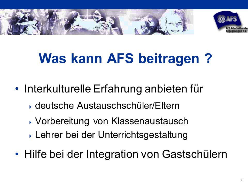 5 Was kann AFS beitragen .
