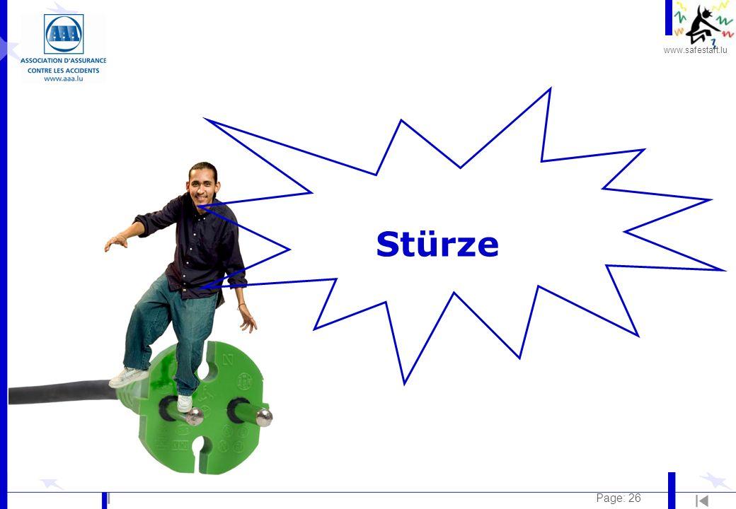 www.safestart.lu Page: 26 Stürze