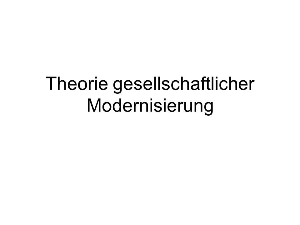 Theorie gesellschaftlicher Modernisierung