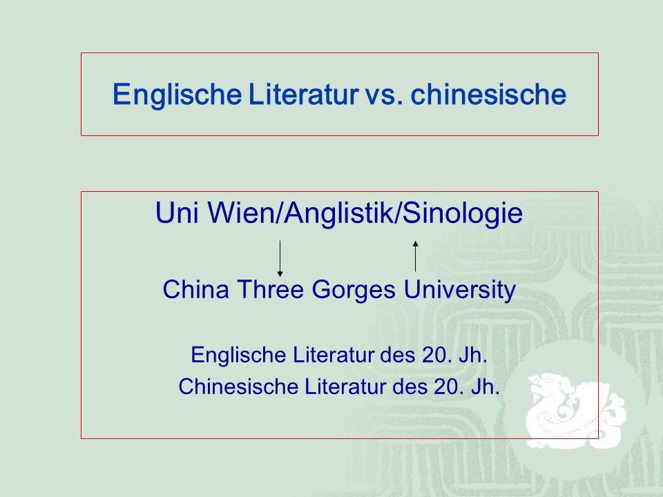 Englische Literatur vs.