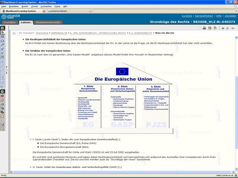 7 eTools in verpflichtenden und vertiefenden Rechtskursen Content – Beispiele