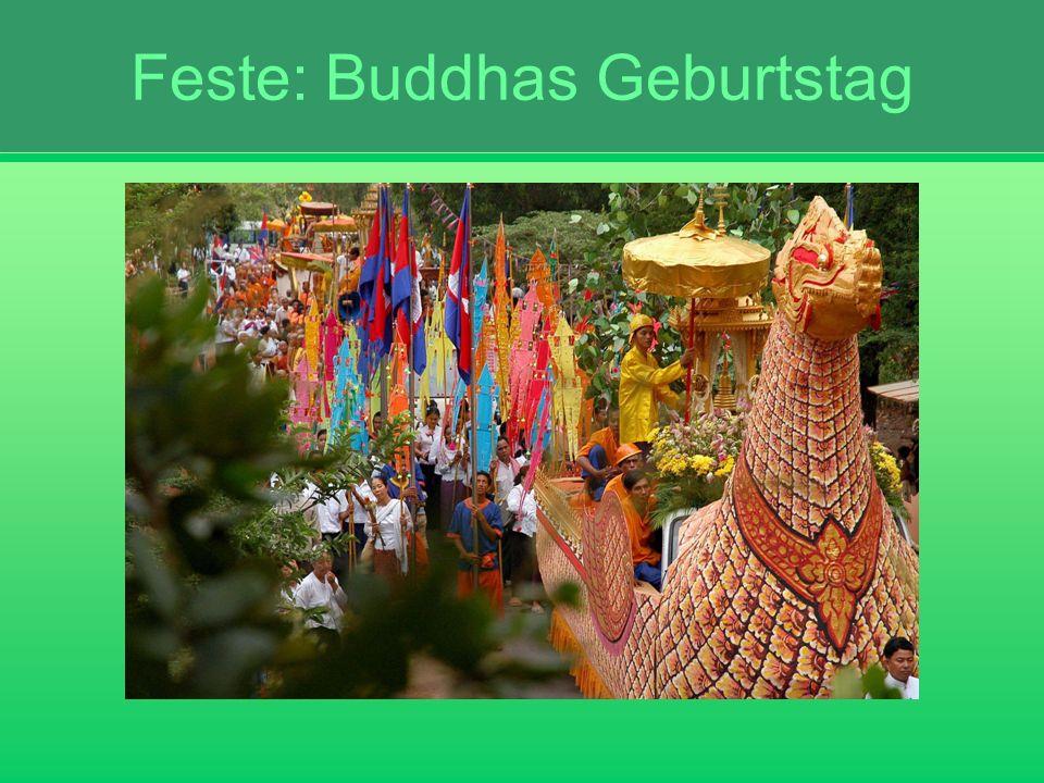 Feste: Buddhas Geburtstag