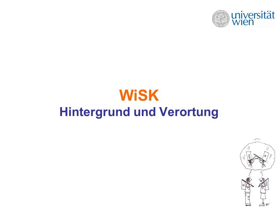 WiSK Hintergrund und Verortung