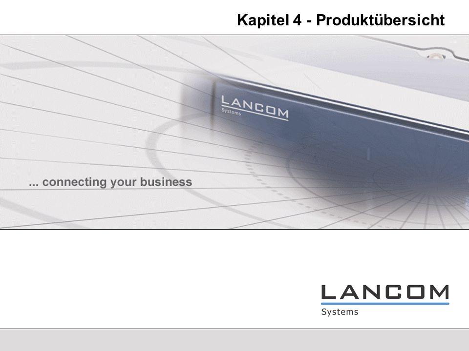 LANCOM Systems - 13 Produktübersicht - Secure Internet Access LANCOM 821 ADSL / ISDN - Features ADSL/ISDN Kombi-Router ADSL-Modem, ISDN-Modem, Router, Firewall und Switch inklusive Internet-Zugang über ADSL und ISDN Ausfallsicherheit durch ISDN Dial-Backup nutzbar auch mit externem SDSL-Modem oder -Router DMZ-Nutzung des Switches durch den Private-Mode