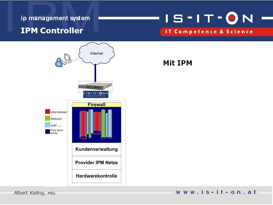 IPM Controller Albert Kisling, MSc Mit IPM