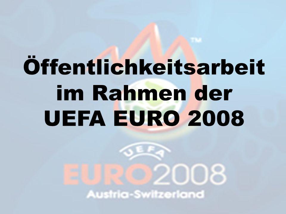Öffentlichkeitsarbeit im Rahmen der UEFA EURO 2008