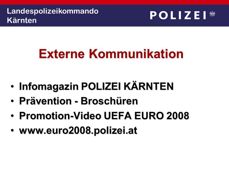 Landespolizeikommando Kärnten Externe Kommunikation Infomagazin POLIZEI KÄRNTENInfomagazin POLIZEI KÄRNTEN Prävention - BroschürenPrävention - Broschü