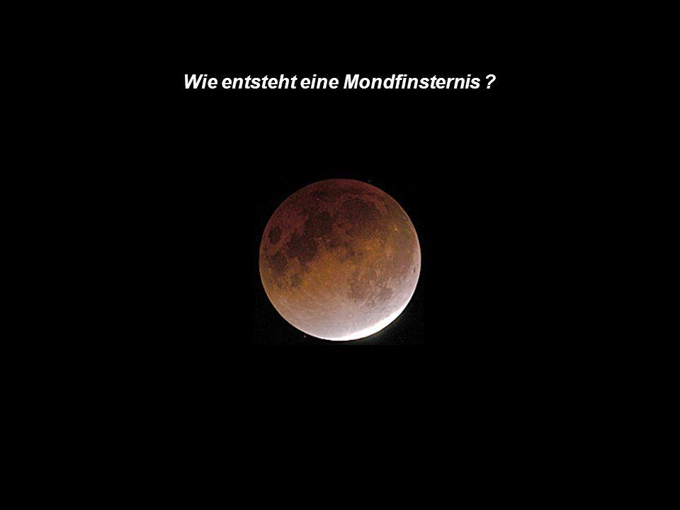 . 1 Wie entsteht eine Mondfinsternis ?