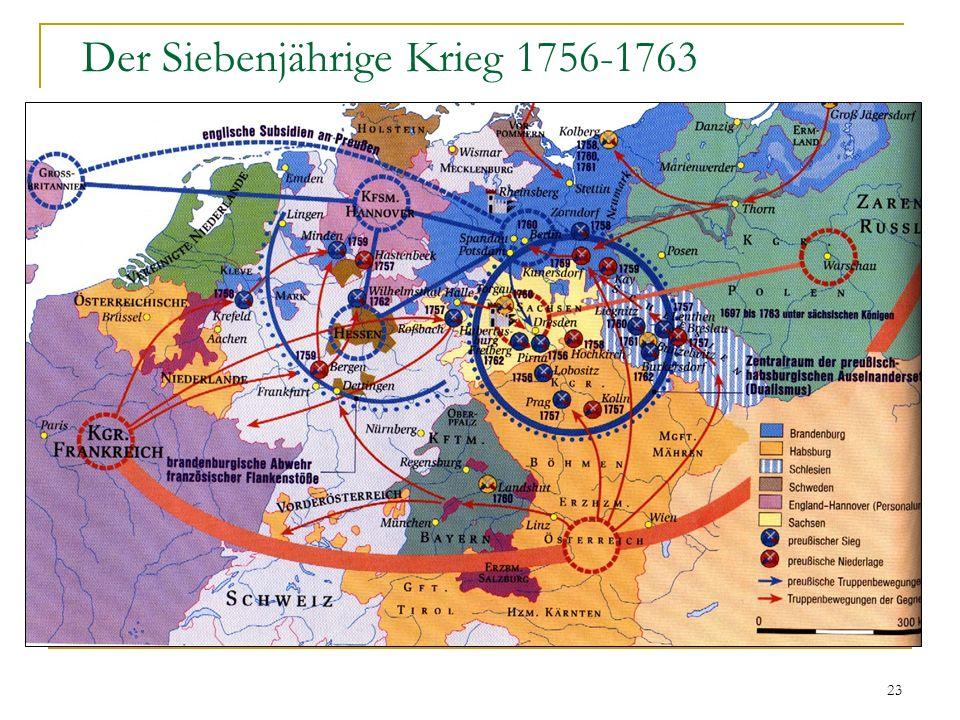23 Der Siebenjährige Krieg 1756-1763