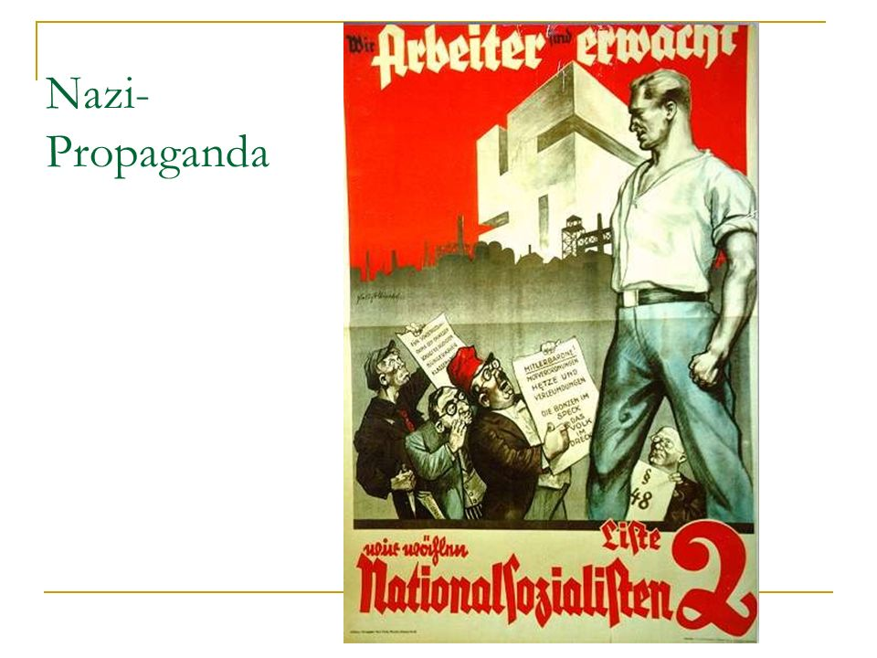 Nazi- Propaganda