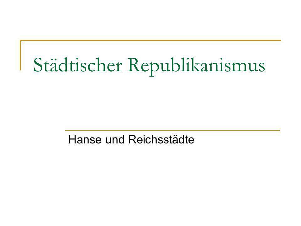 Schwerpunkte 1.Urbanisierung des Mittelalters 2. Stadtrecht und Stadtverfassung 3.