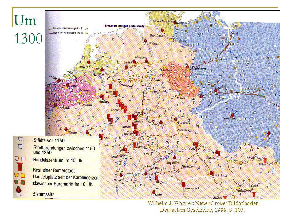Reichsstädte und Landesstädte Die etwa 100 Reichsstädte waren königliche Gründungen auf Reichs- oder Königsgut, die sich daher südlich der Mainlinie fanden.