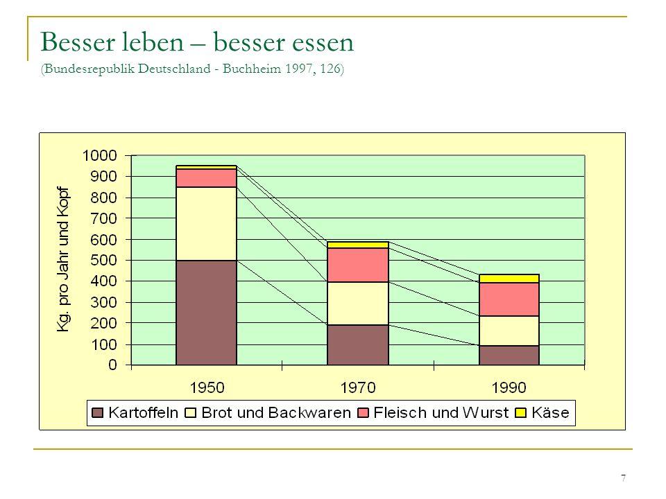 28 Sieger der Geschichte Die Wiedervereinigung traf zwei nach Geschichte, Werten und Potential sehr verschiedene Gesellschaften.