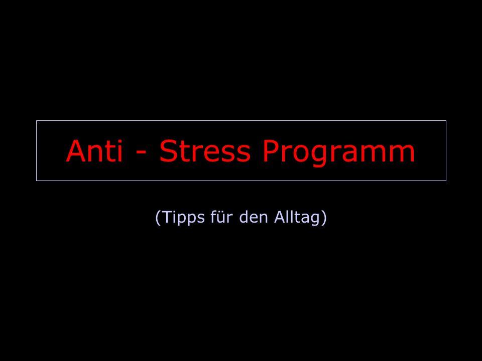 Wenn du wirklich die Nase voll hast von all dem täglichen Stress … 2 von 14