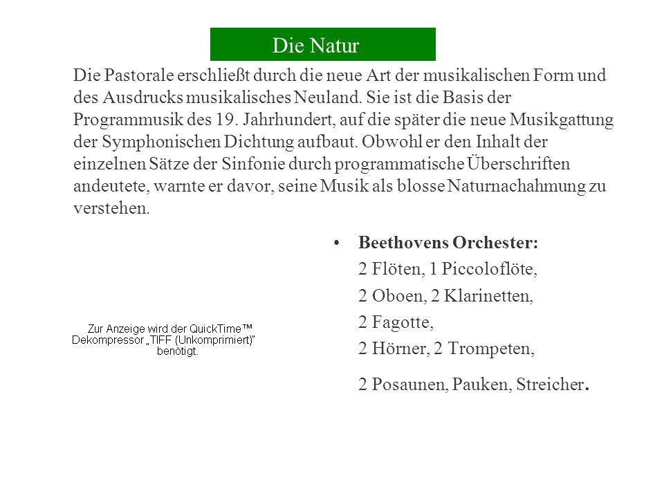 Ein Musterbeispiel:Beethovens 6.