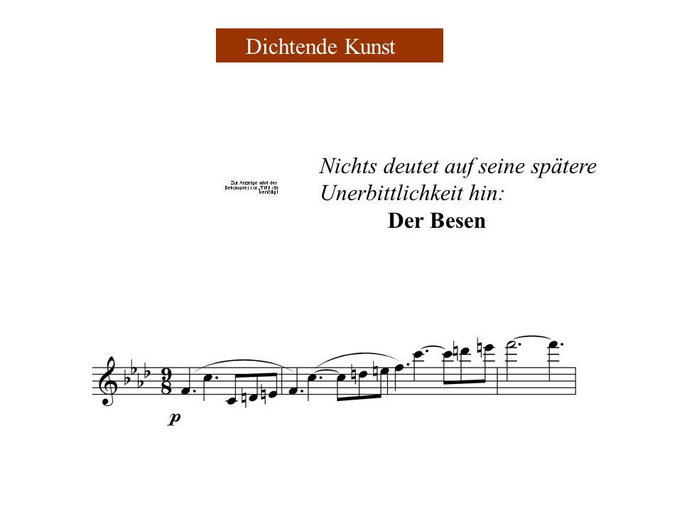Die musikalische Nacherzählung von dieser Ballade beginnt mit einer Einleitung (ca.