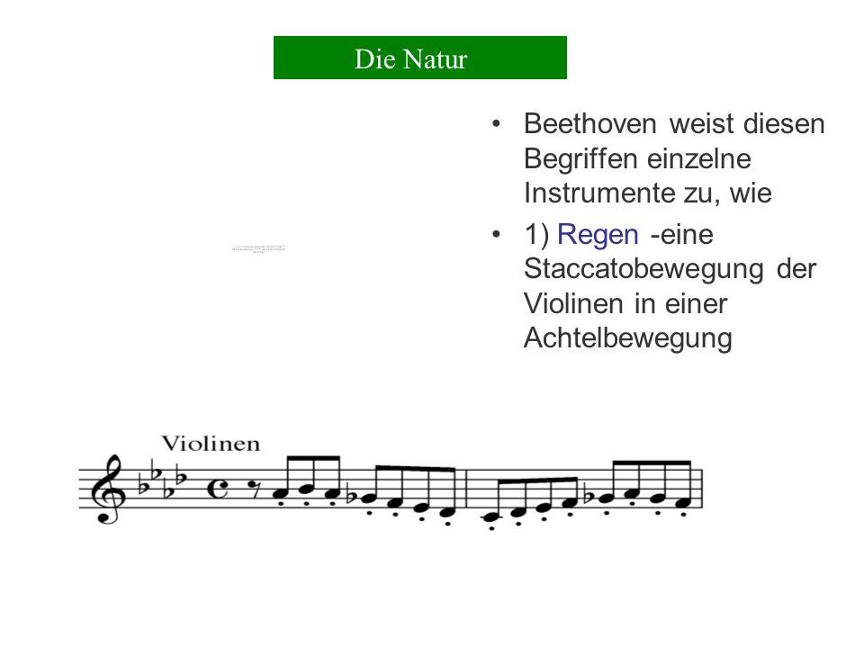 Effektvolle Mittel der Tonmalerei werden eingesetzt im 3.