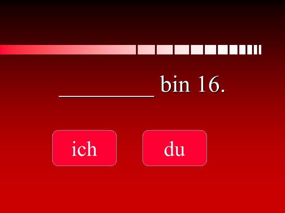 ________ bin 16. ichdu