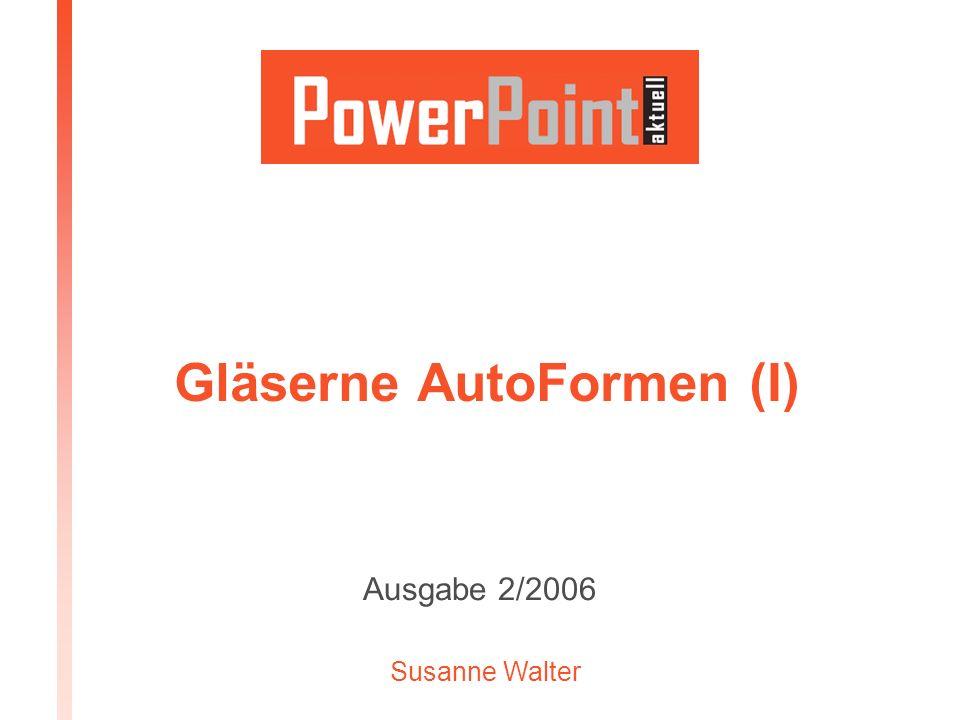 Ausgabe 2/2006www.powerpoint-aktuell.de2 Von der Idee zum fertigen Produkt IDEEKonzipierenKalkulierenTestenPlanenAuswertenOptimierenPRODUKTUmsetzen