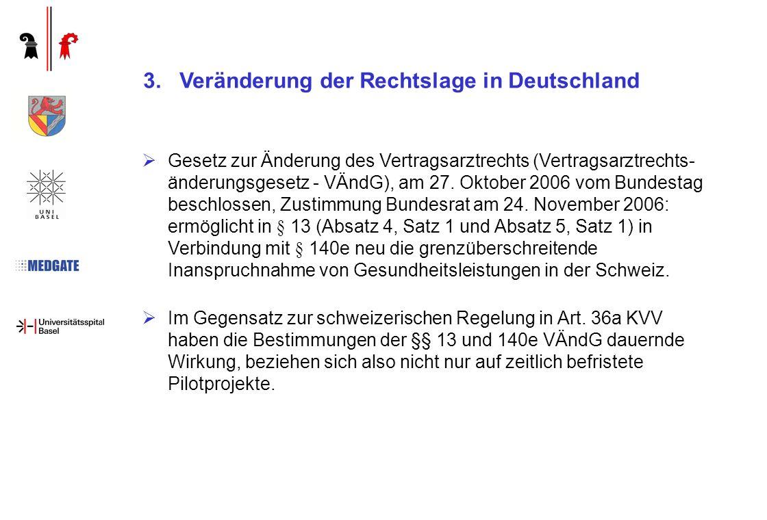 Räumliche Beschränkung: Landkreis Lörrach, BS, BL (Südelsass leider noch nicht involviert) Inhaltliche Beschränkung: einzelne Behandlungspfade Zeitliche Beschränkung: 3 Jahre (inkl.