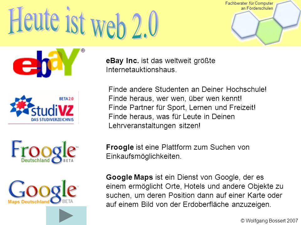 Fachberater für Computer an Förderschulen © Wolfgang Bossert 2007 eBay Inc.