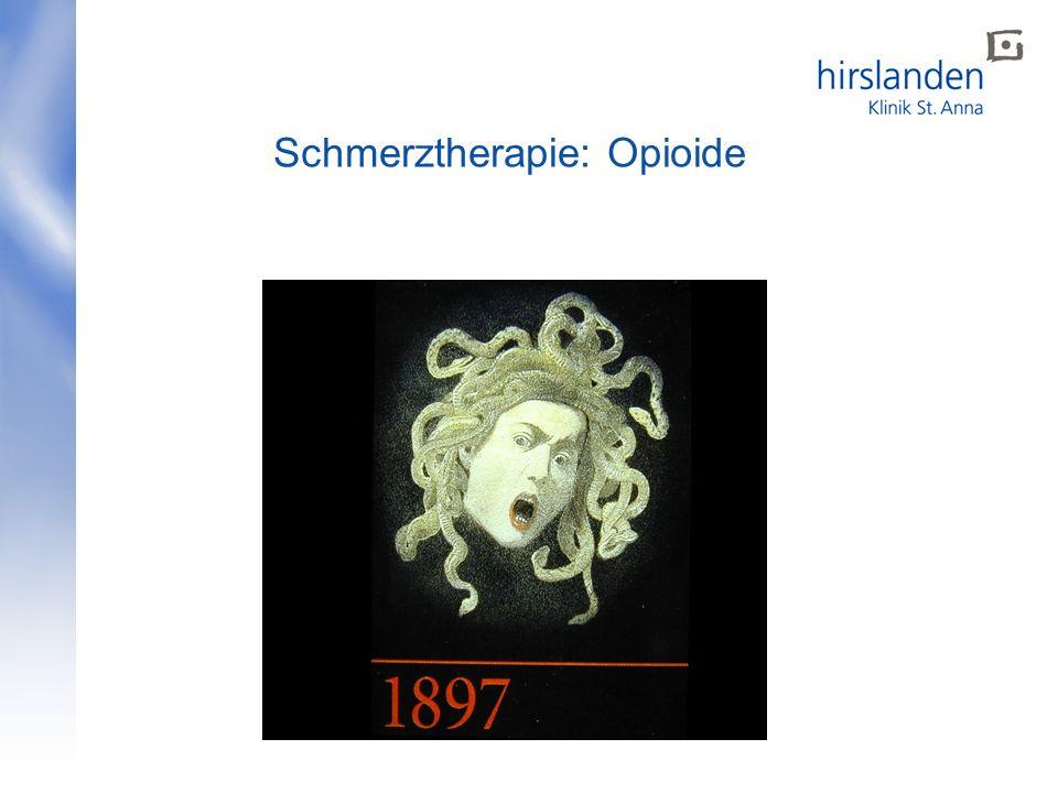 Schmerztherapie: Opioide