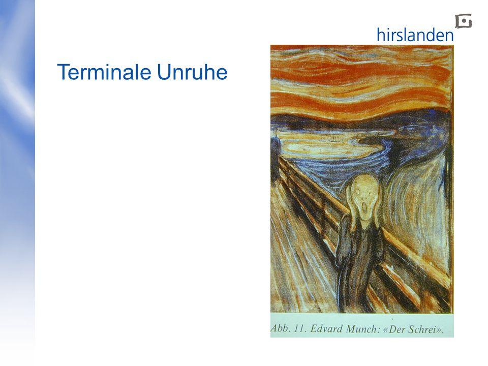 Terminale Unruhe