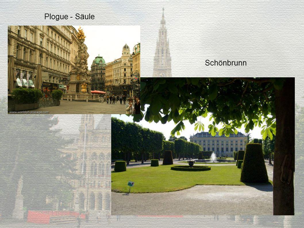 Plogue - Säule Schönbrunn