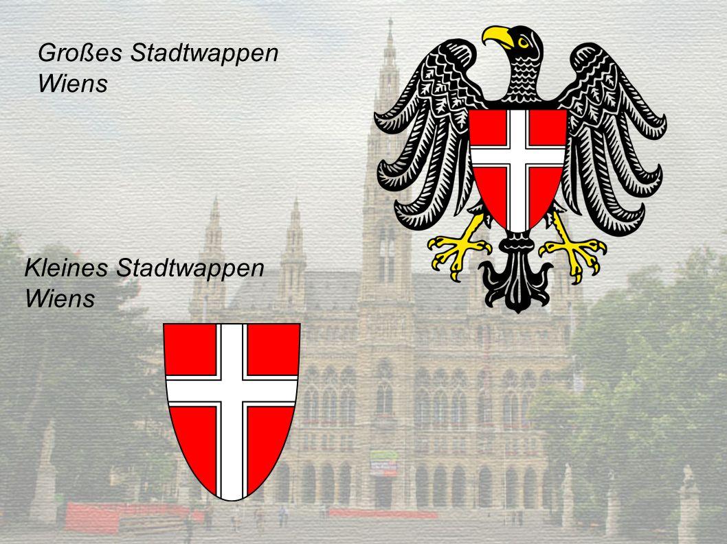 Großes Stadtwappen Wiens Kleines Stadtwappen Wiens