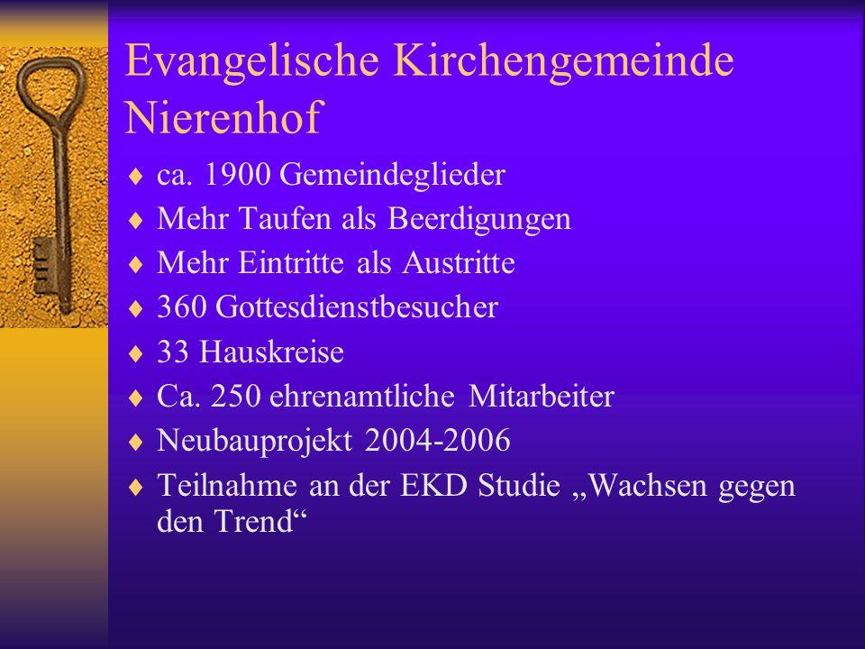 Eine Gemeinde für alle Generationen Auf allen Ebenen zeigt die Gemeinde missionarisches Profil.