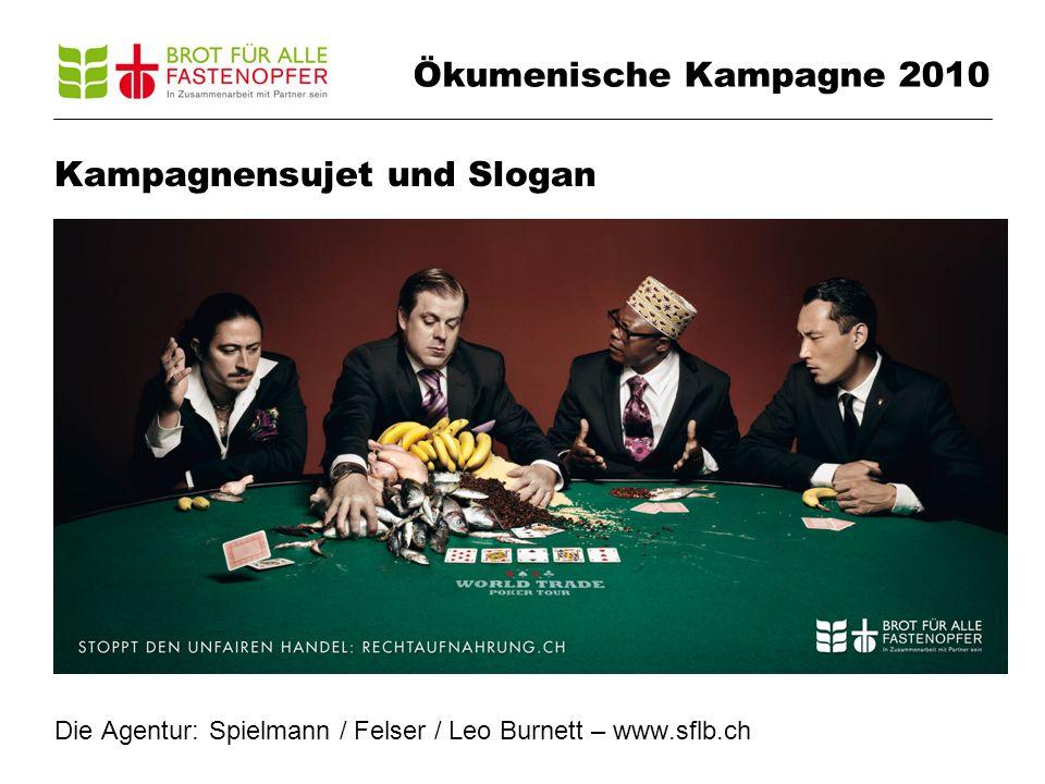 Ökumenische Kampagne 2010 Die Dachkampagne 1 Hauptelement (Key Visual), das durchgezogen wird auf: TV-Spot Plakate F12 (z.