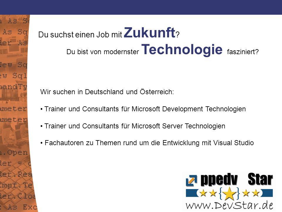 Du suchst einen Job mit Zukunft .Du bist von modernster Technologie fasziniert.