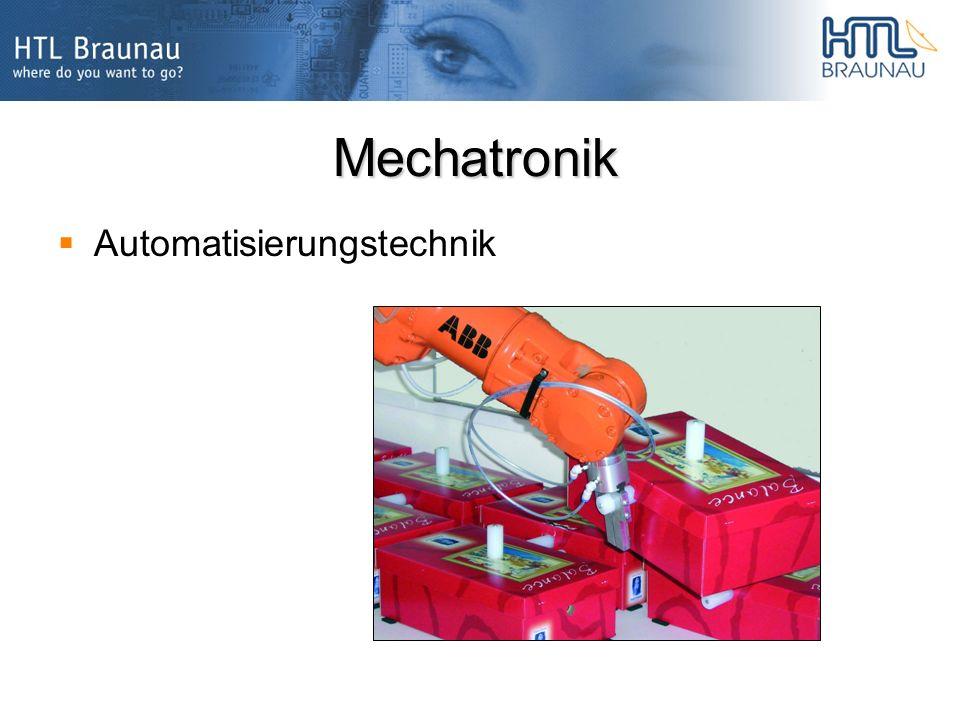 Mechatronik Automatisierungstechnik